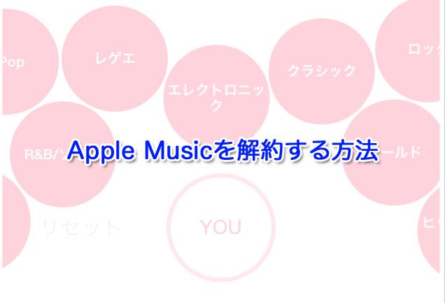 Apple Music-kaiyaku-iPhone