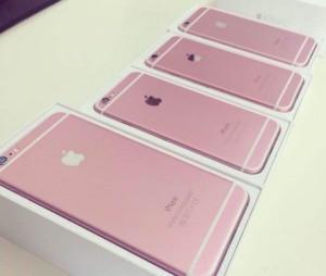 iPhone6sのピンクモデルの画像が流出か?
