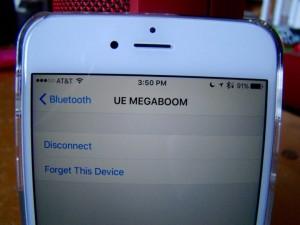 iOS9のBluetoothは端末ごとに接続をオフにできるらしい