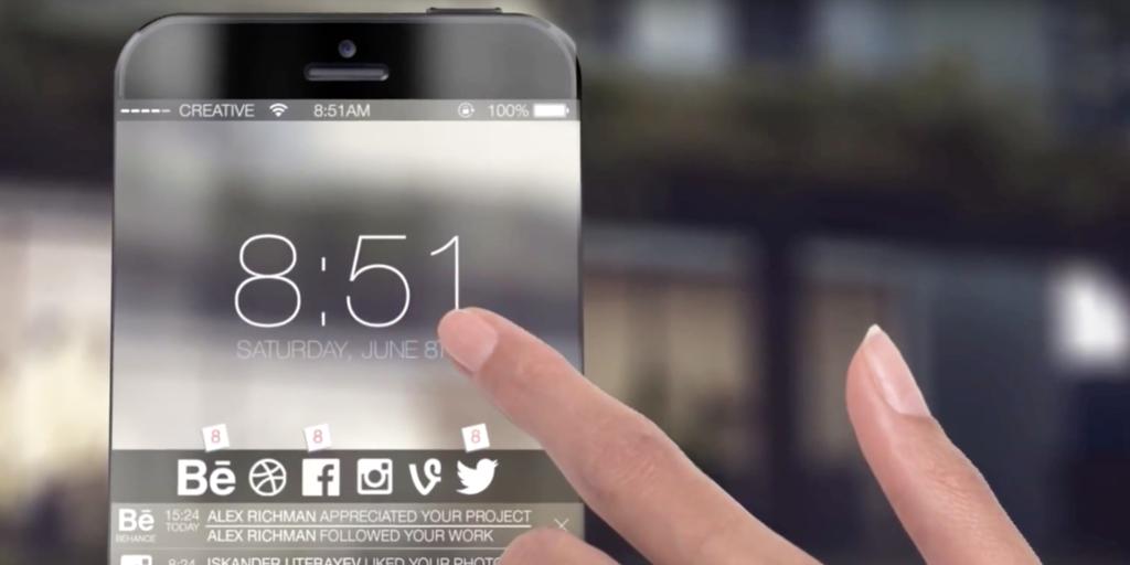 iPhone 7のデザインはベゼルフリーデザインを採用するかも