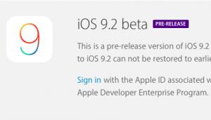 【iPhone】iOS9.2ベータ版が開発者向けにリリース