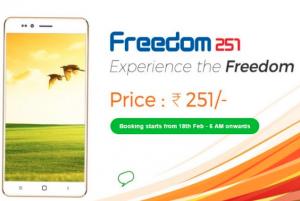 460円スマホ「Freedom 251」がインドで発売