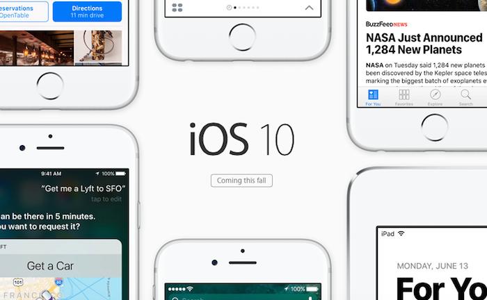 iOS10の新機能や使い方を一挙紹介!
