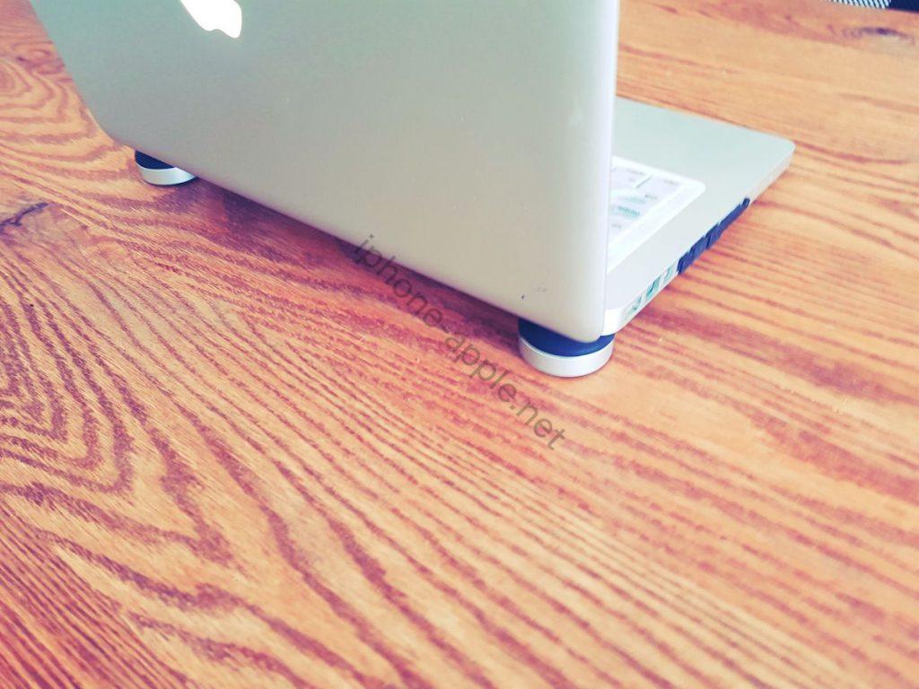 ノートパソコン(MacBook)の熱対策にPC冷却スタンドを購入してみた