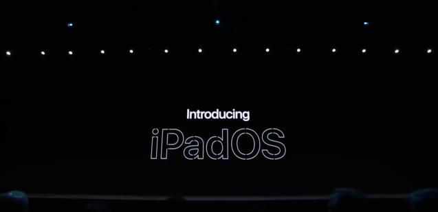 【iOS13】iPadは廃止へ|新iOSとしてiPadOSが登場